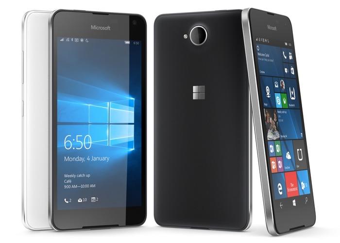 Lumia 650 cabecera