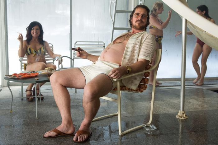 Christian Bale, la gran estafa americana, american hustle, fotos, engordar, peso