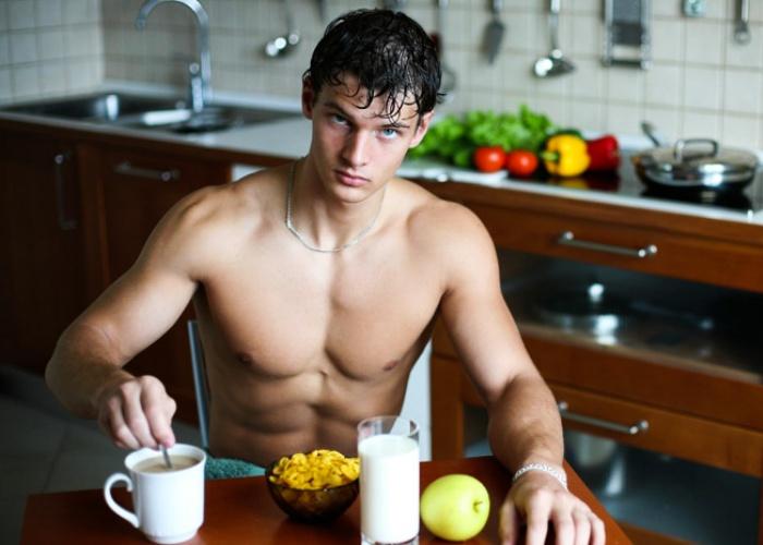Comdas después entrenar