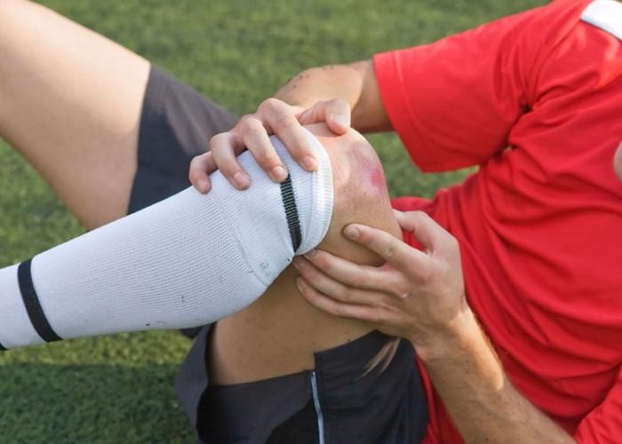 Herida en rodilla