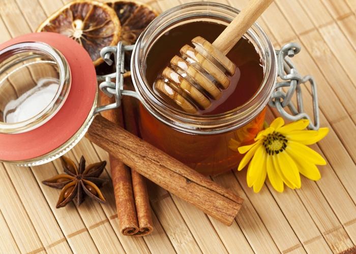 Mascarilla de canela y miel