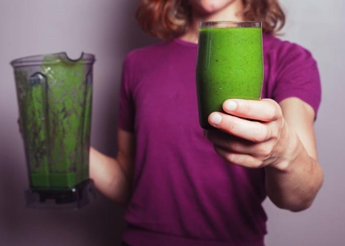 Bebidas espinaca saludables