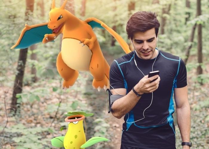 Corredor y Pokémon