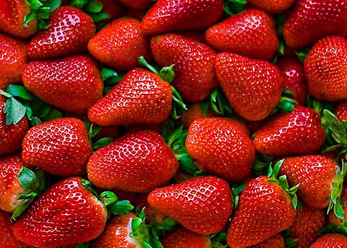 Cantidad de fresas