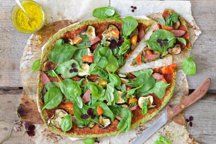 Pizza brócoli