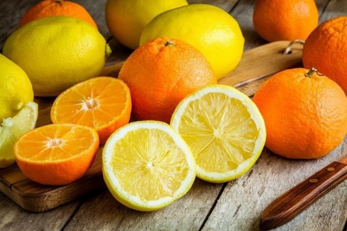 Zumo naranja limón