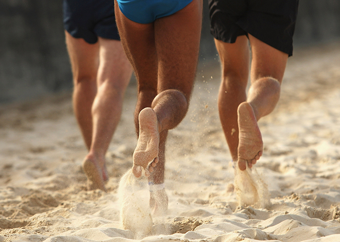 descalzo playa