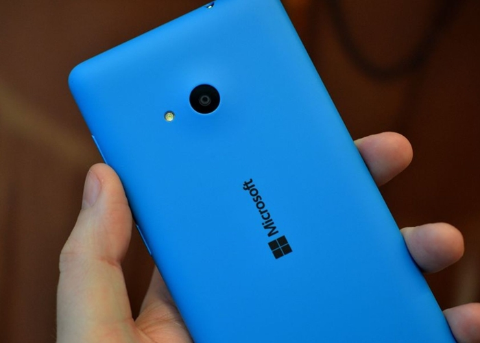 Cámara trasera del Lumia 640