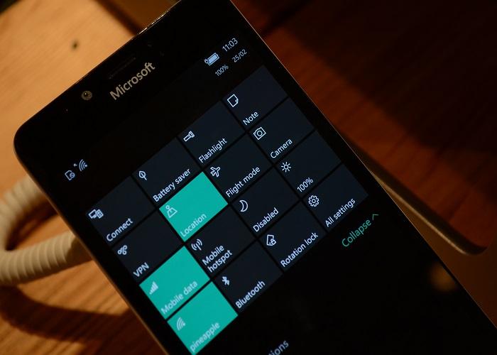 Windows 10 Mobile Lumia 950 4 MWC 2016