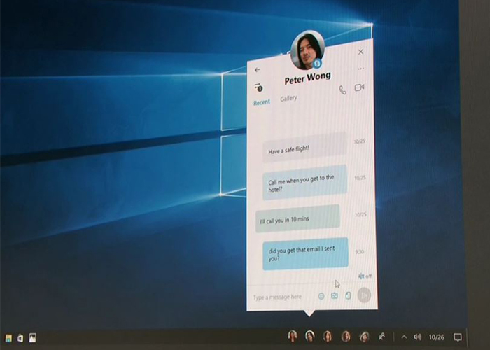 Chat en Skype con MyPeople