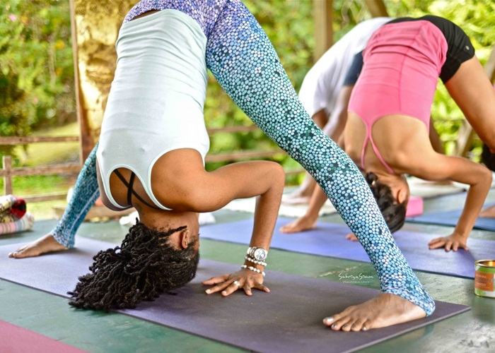 pose de yoga