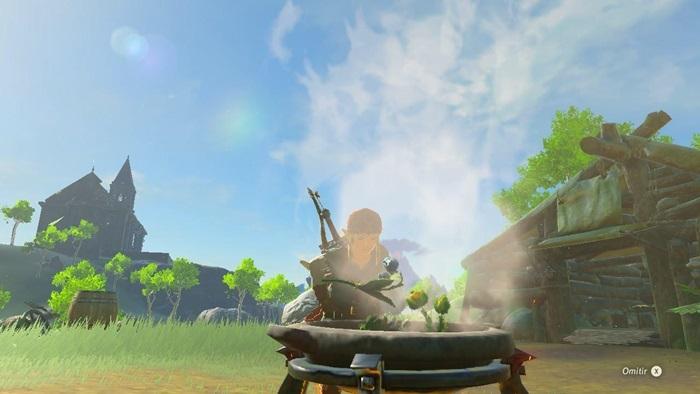 Zelda Breath of the Wild ingredientes