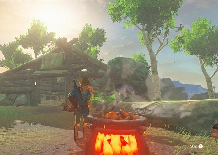 Comment faire cuire dans Zelda, le Souffle De La nature