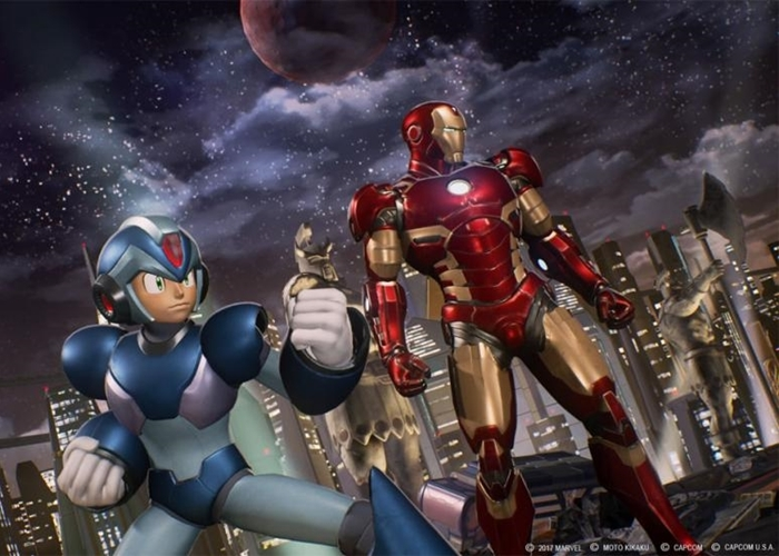 Les X-men ne sera pas dans Marvel vs Capcom infini