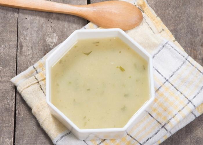 Soupes pour déboguer les reins et le foie