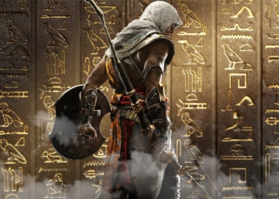 Assassins creed origins portada oro
