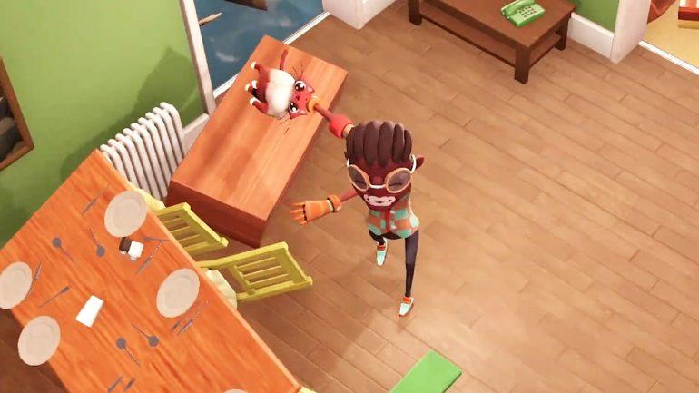 Ceci est Get Packed, un jeu coopératif prometteur avec Stadia