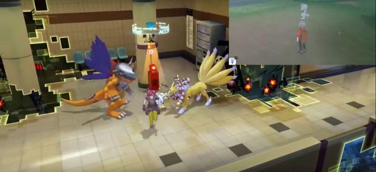 Ils comparent le gameplay des derniers jeux vidéo Pokémon et Digimon