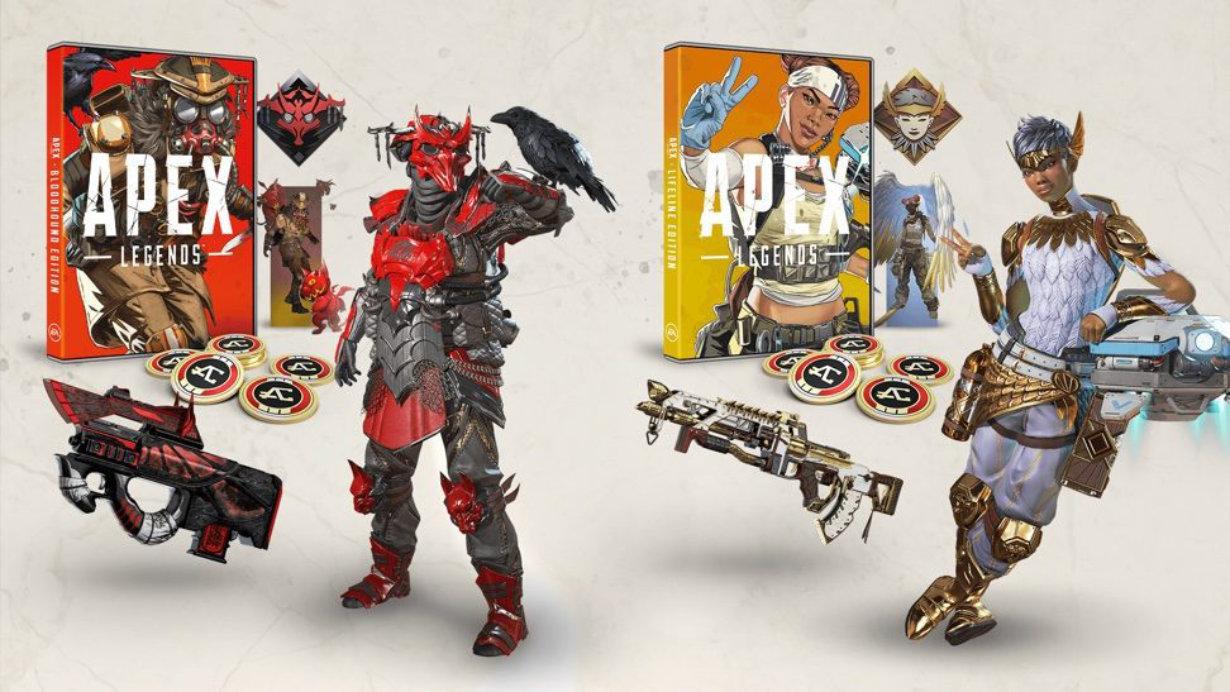 Le format physique vient à Apex Legends avec deux éditions spéciales pour PS4, Xbox One et PC